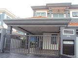 Photo House double storey semi d at sg abong, muar