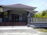 Photo House single storey semi d at jln salleh muar