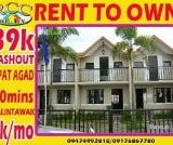 Photo 2 bedroom House and Lot For Rent in Santa Maria...