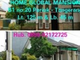 Foto Perumahan Global Mansion hook Blok B