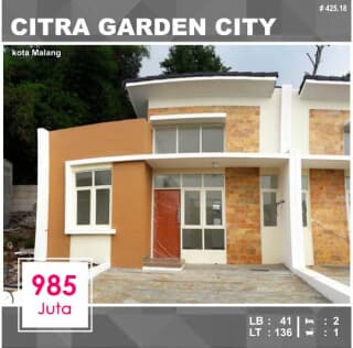 Rumah Citra Garden City Malang Trovit