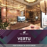 Foto The vertu new project ciputra world diatas mall...