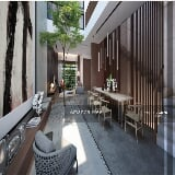 Photo Modern luxury lifestyle 3 storey landed house...