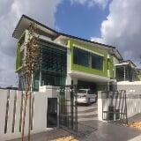 Photo [7088 sf] 2 sty bungalow house, the rise, kota...