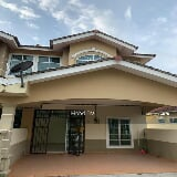 Photo Terrace double storey high cost at taman ria...