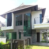 Photo Corner lakeview bungalow house setia marina,...