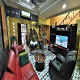 Photo (Open facing) double storey house, taman...