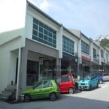 Photo 1 & half storey Shoplot at Taman Mega Jaya Ampang