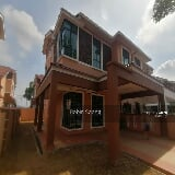 Photo Double storey semi d in durian tunggal, desa...