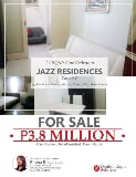 Photo 1br for sale in jazz residences
