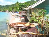 Photo El nido titled beachfront-pension/bar