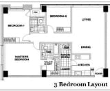 Photo 3 bedroom Condominium For Sale in Cebu Business...