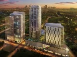 Photo Residential Towers attached to Ayala Malls