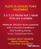 Photo Plots in Ghouri Town Phase 7, Islamabad
