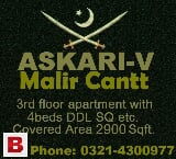 Photo MALIR CANTT Askari-5 BIGGER Apartment 3rd Floor...