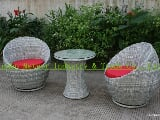 Photo Outdoor rattan furnitue